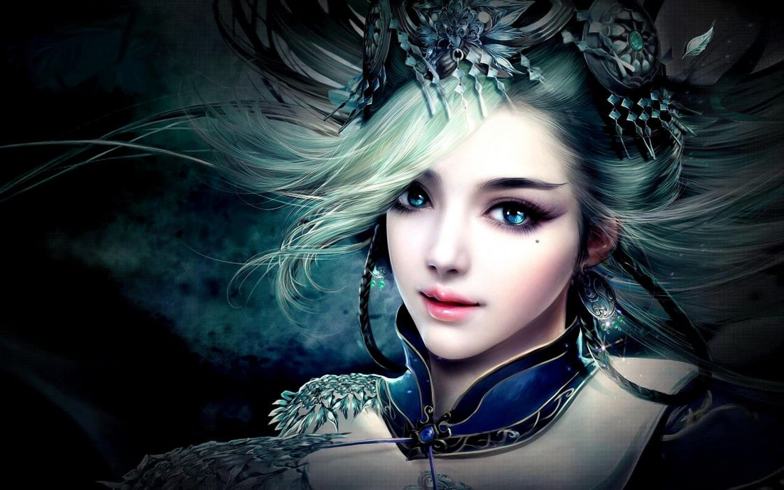 PRINCESS - pretty art 3D fantasy girl wallpaper