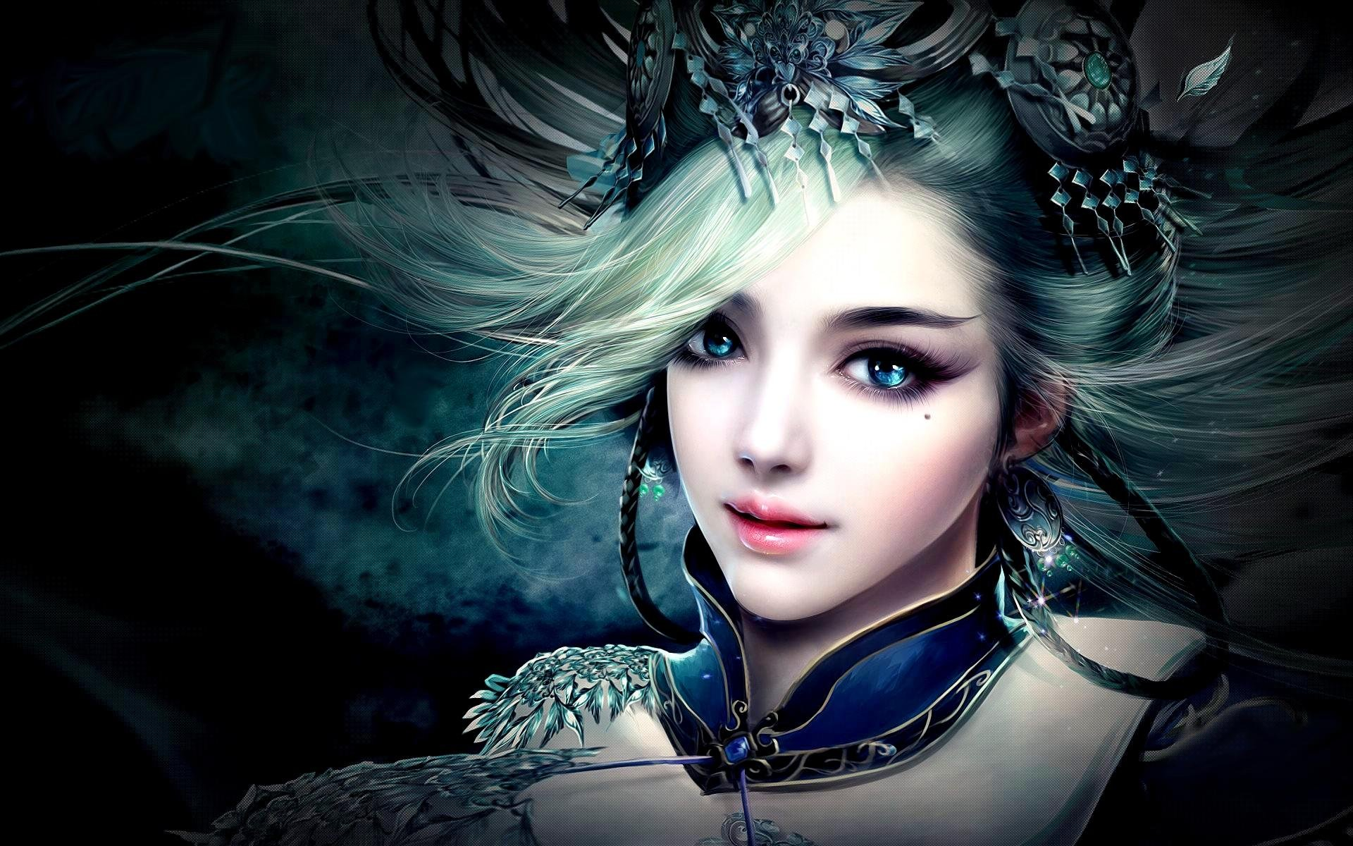 princess - pretty art 3d fantasy girl wallpaper | 1920x1200 | 551582