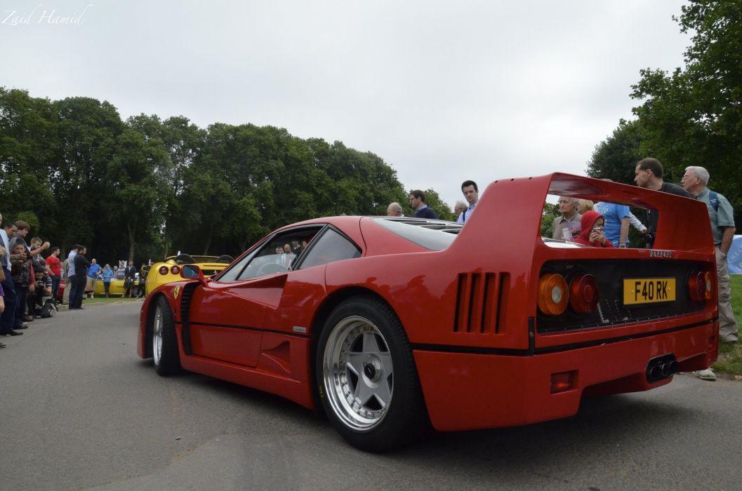 Ferrari F40 supercars cars red italia wallpaper