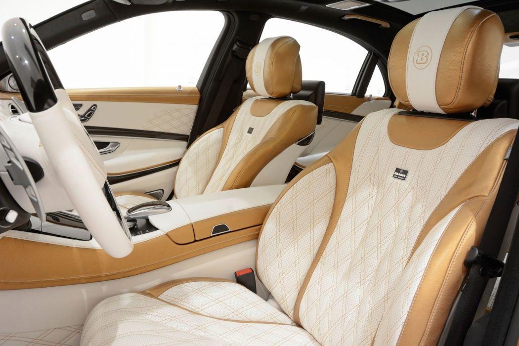 2014 Brabus 850 S63 AMG Bronze tuning cars wallpaper