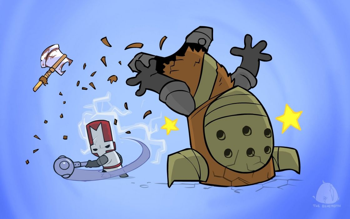 CASTLE-CRASHERS fighting action rpg fantasy scrolling castle crashers wallpaper