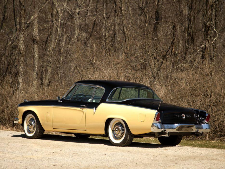 1956 Studebaker Sky Hawk Coupe (56H-K7) retro wallpaper