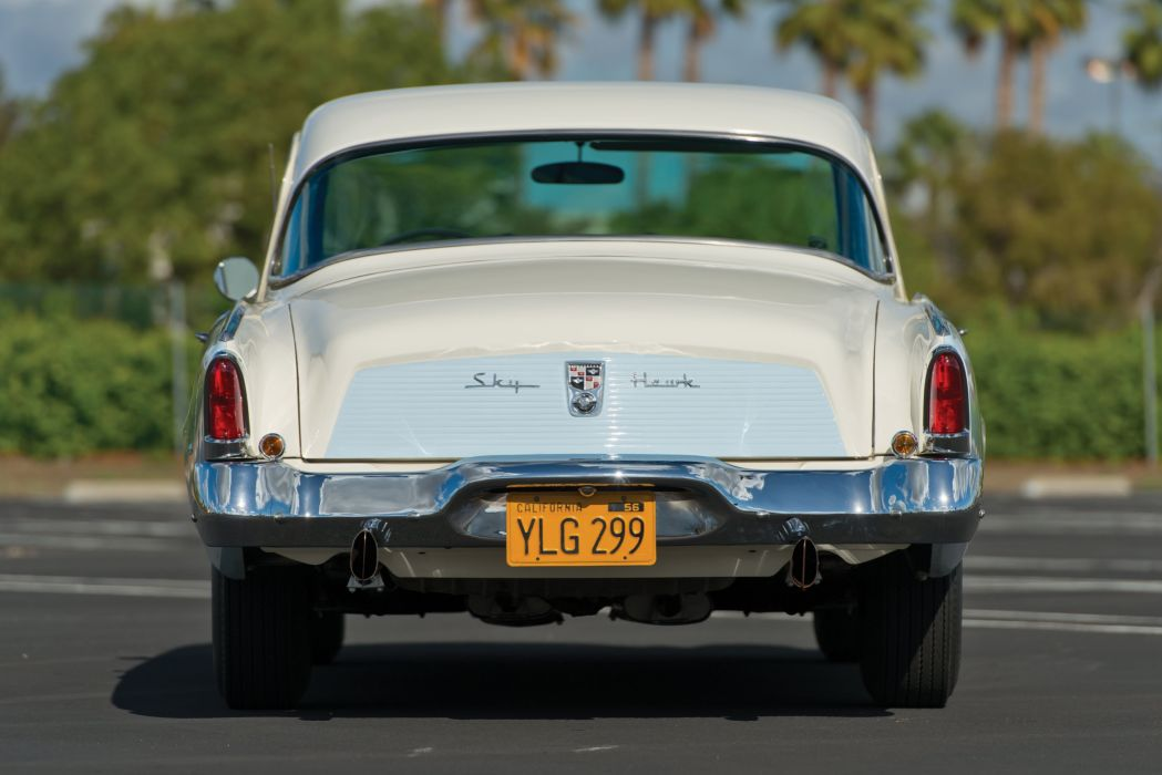 1956 Studebaker Sky Hawk Coupe (56H-K7) retro wallpaper