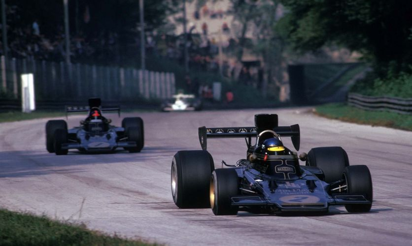 1973-75 Lotus 72E F-1 formula race racing wallpaper