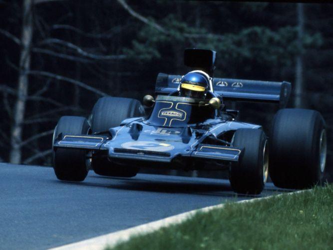 1973-75 Lotus 72E F-1 formula race racing wallpaper