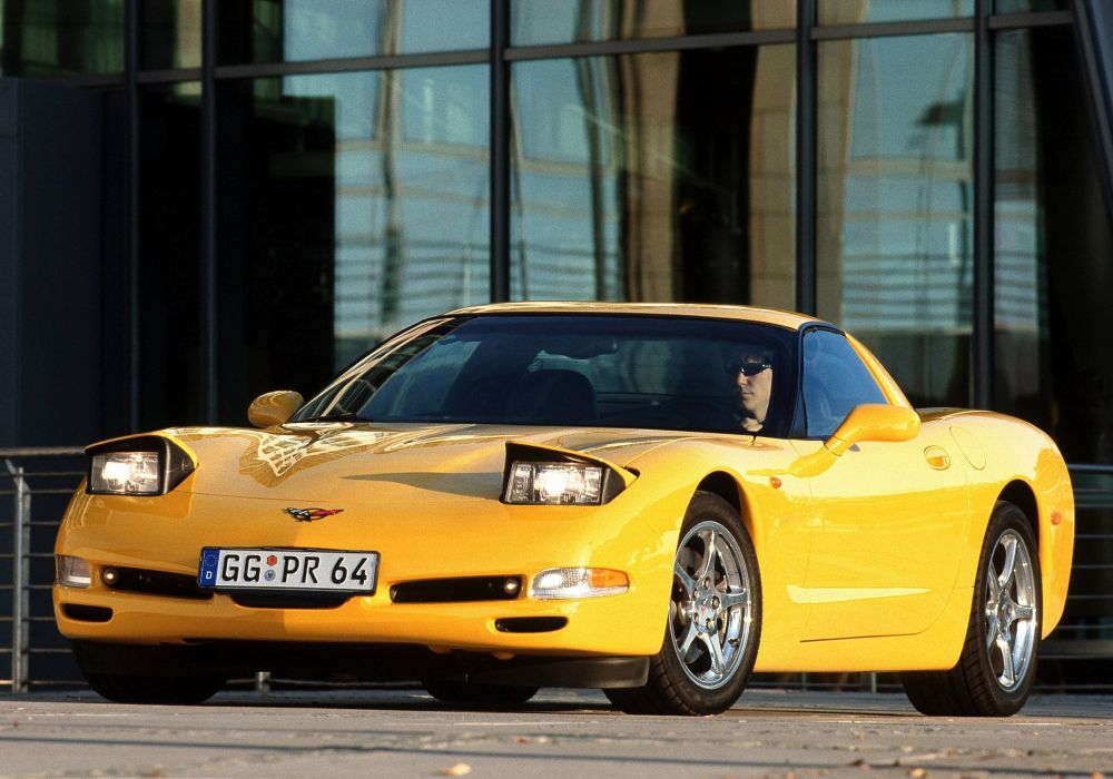 1997-04 Chevrolet Corvette Coupe EU-spec (C-5) supercar muscle wallpaper