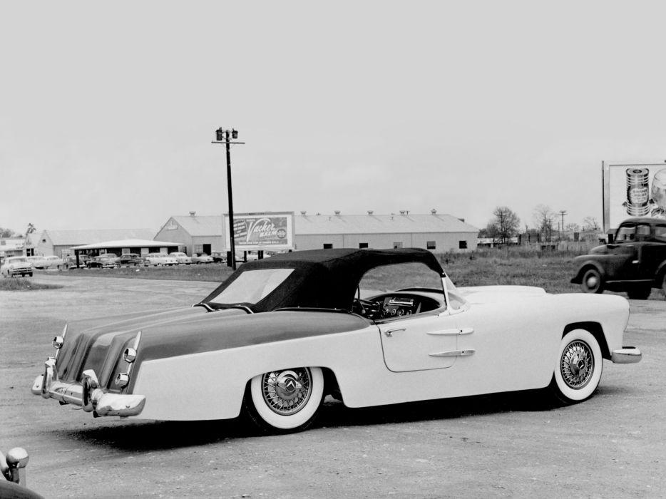 1949 Venus Convertible luxury retro wallpaper