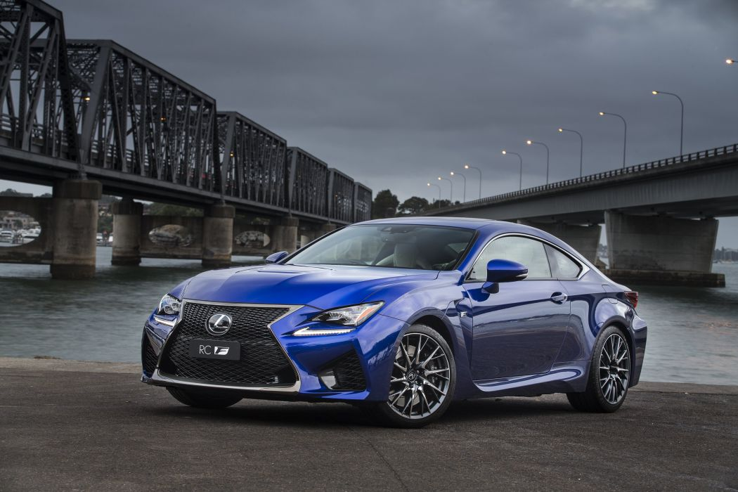 2014 Lexus RC-F AU-spec r-c wallpaper