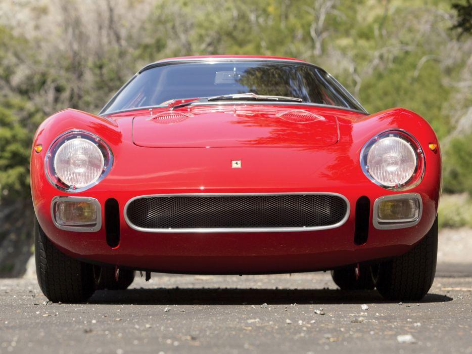 1966 Ferrari 250 L-M supercar race racing wallpaper
