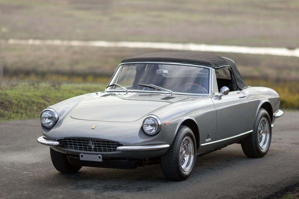 1969 Ferrari 365 GTS supercar classic wallpaper