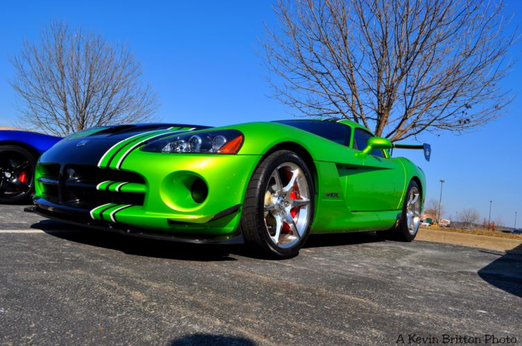 Dodge gts muscle srt Supercar Viper cars usa blue green vert wallpaper