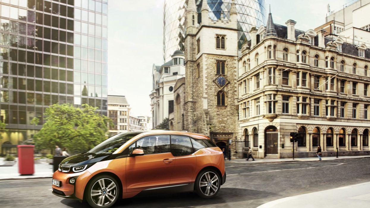 BMW i3 car wallpaper