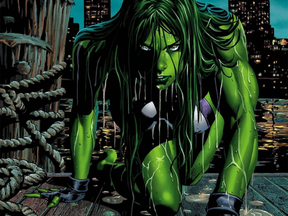 She Hulk Marvel Comics Superhero Hulk She Wallpaper 2560x1920