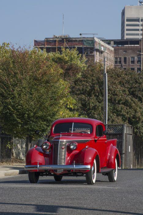 1937 Studebaker Model-J5 Coupe-Express pickup retro wallpaper