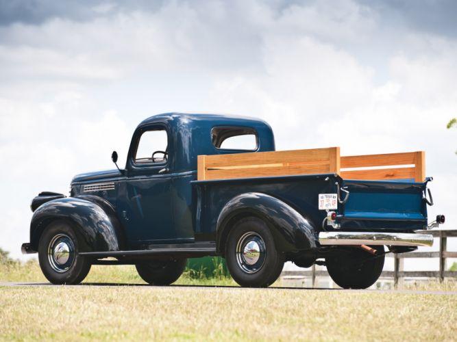 1941 Chevrolet Pickup Truck (AK-3104) retro wallpaper