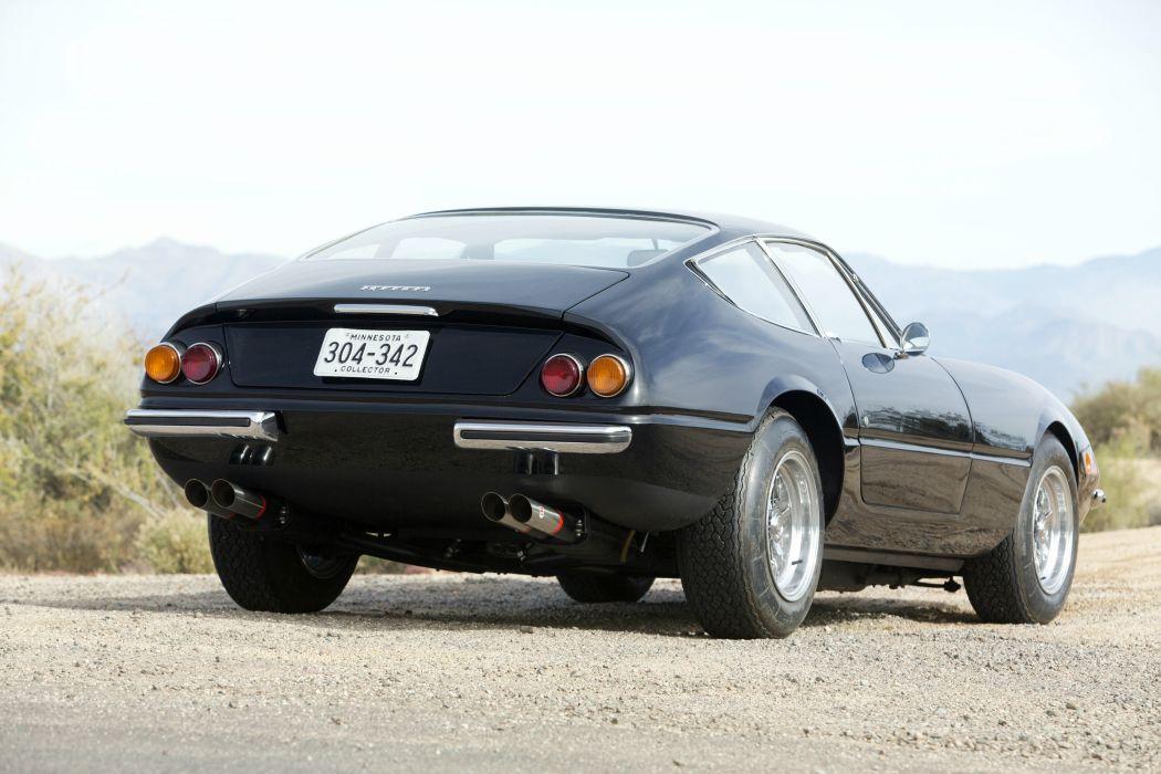 1968 Ferrari 365 GTB-4 Daytona supercar classic wallpaper