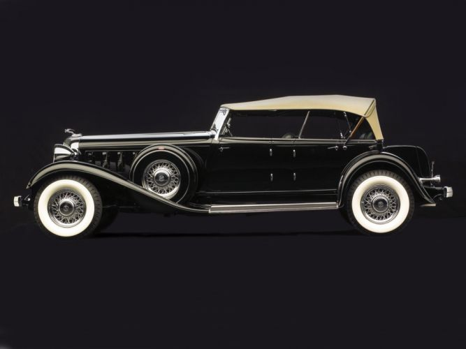1933 Chrysler Custom Imperial Dual Cowl Phaeton LeBaron (C-L) luxury retro wallpaper
