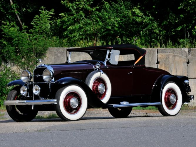 1931 Buick Series-90 Sport Roadster (8-94) luxury retro wallpaper