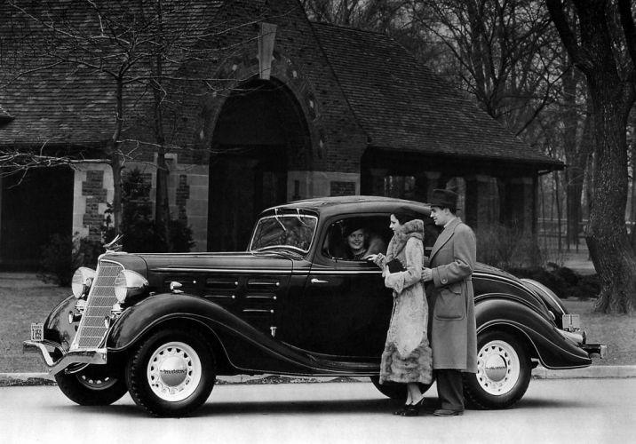 1934 Hudson DeLuxe Eight Coupe (Series-LU) retro wallpaper