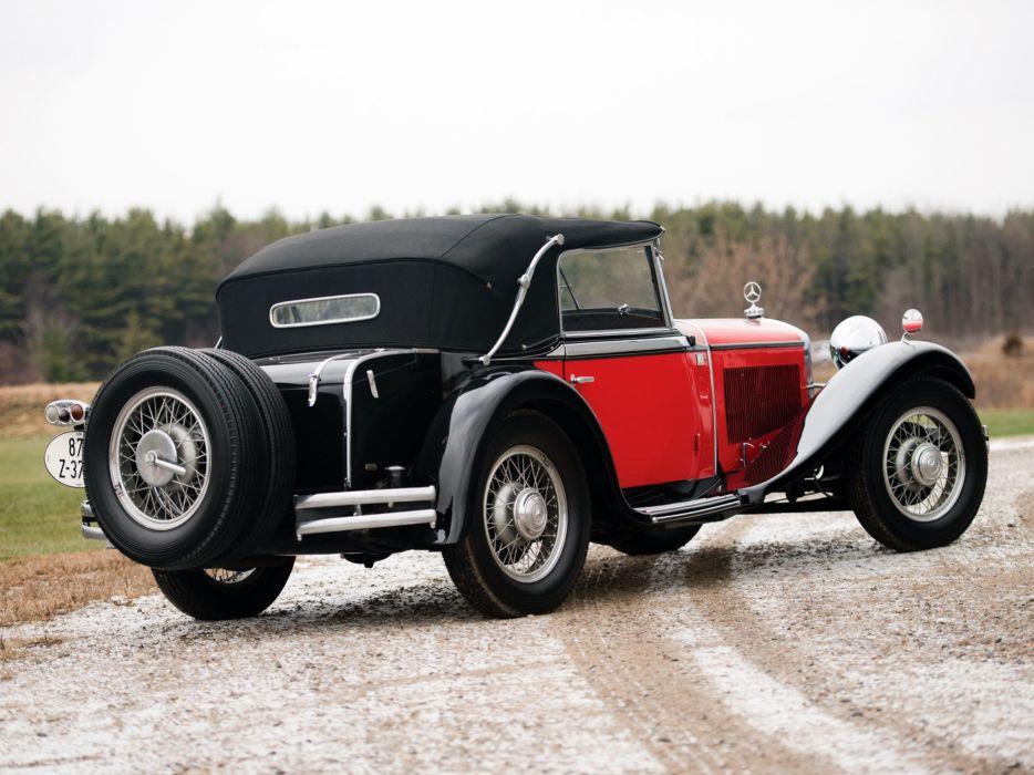 1931 Mercedes Benz 15 75HP Mannheim 370S Sport-Cabriolet (WS10) 370 luxury retro d wallpaper