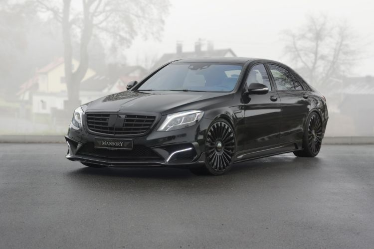 2014 Mansory Mercedes Benz S63 AMG (W222) tuning wallpaper