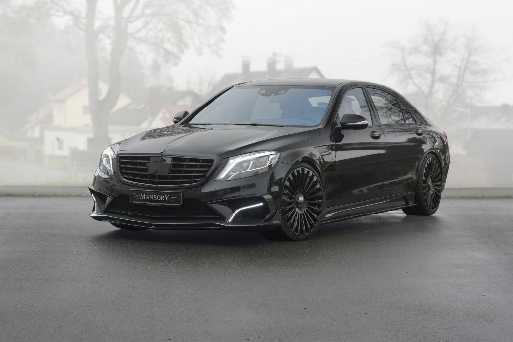 2014 Mansory Mercedes Benz S63 Amg W222 Tuning Wallpaper