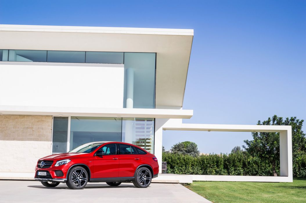 2015 Mercedes Benz GLE 450 AMG 4MATIC Coupe (C292) awd suv wallpaper