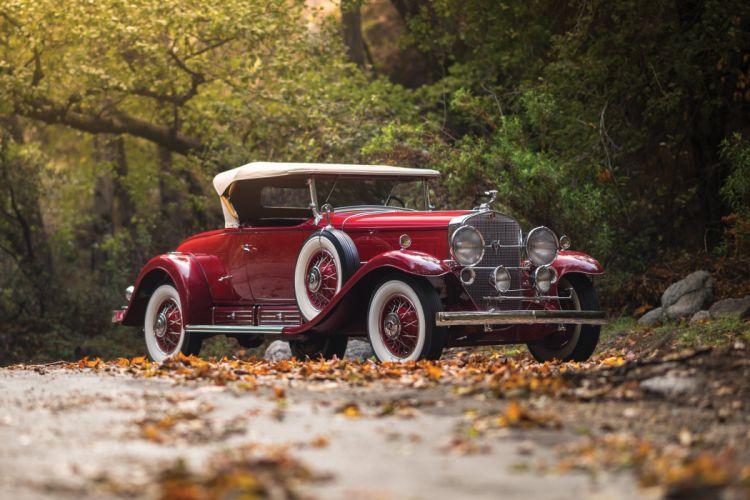 1930 Cadillac V16 452 452-A Roadster Fleetwood luxury retro wallpaper