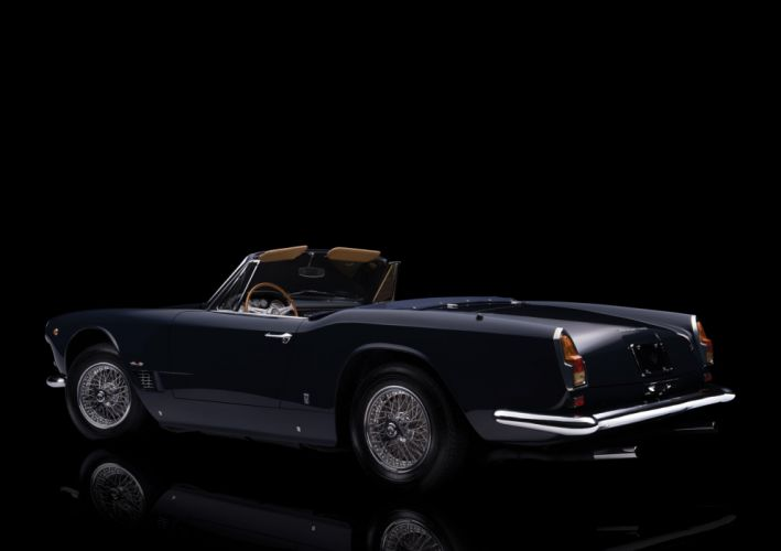 1959-64 Maserati 3500 G-T Spyder AM101 wallpaper
