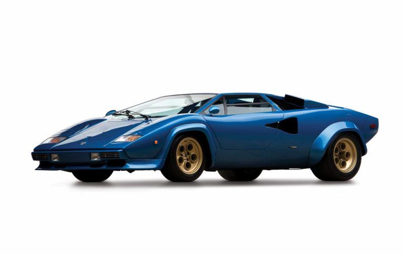 1979 Lamborghini Countach LP400 S US-spec supercar wallpaper