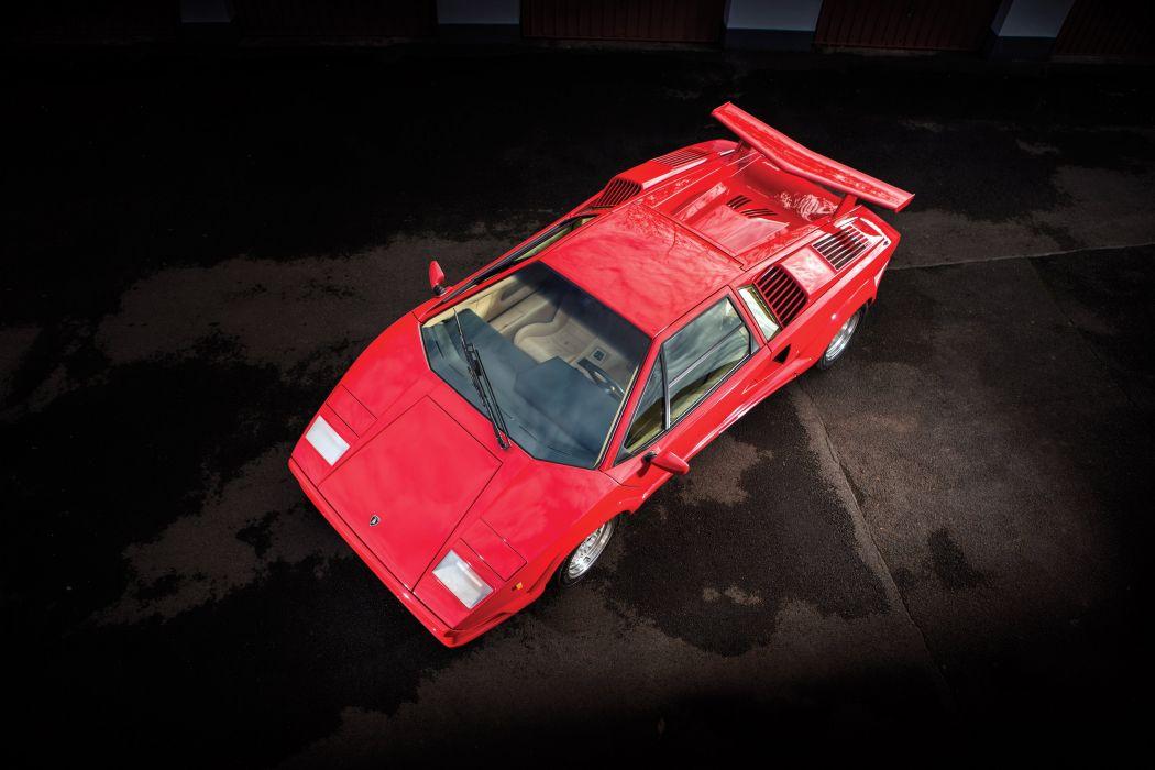 1988-90 Lamborghini Countach 25th-Anniversary supercar wallpaper