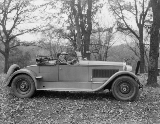 1925 Packard Six Runabout 326-223 retro luxury wallpaper