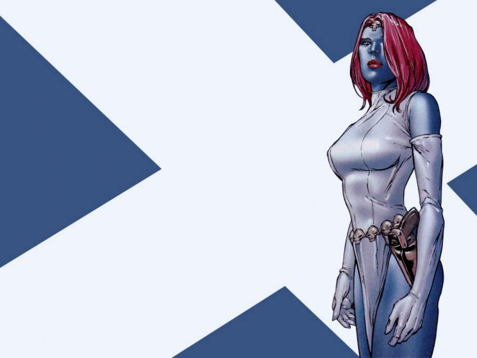 MYSTIQUE marvel superhero action xmen x-men sexy babe wallpaper
