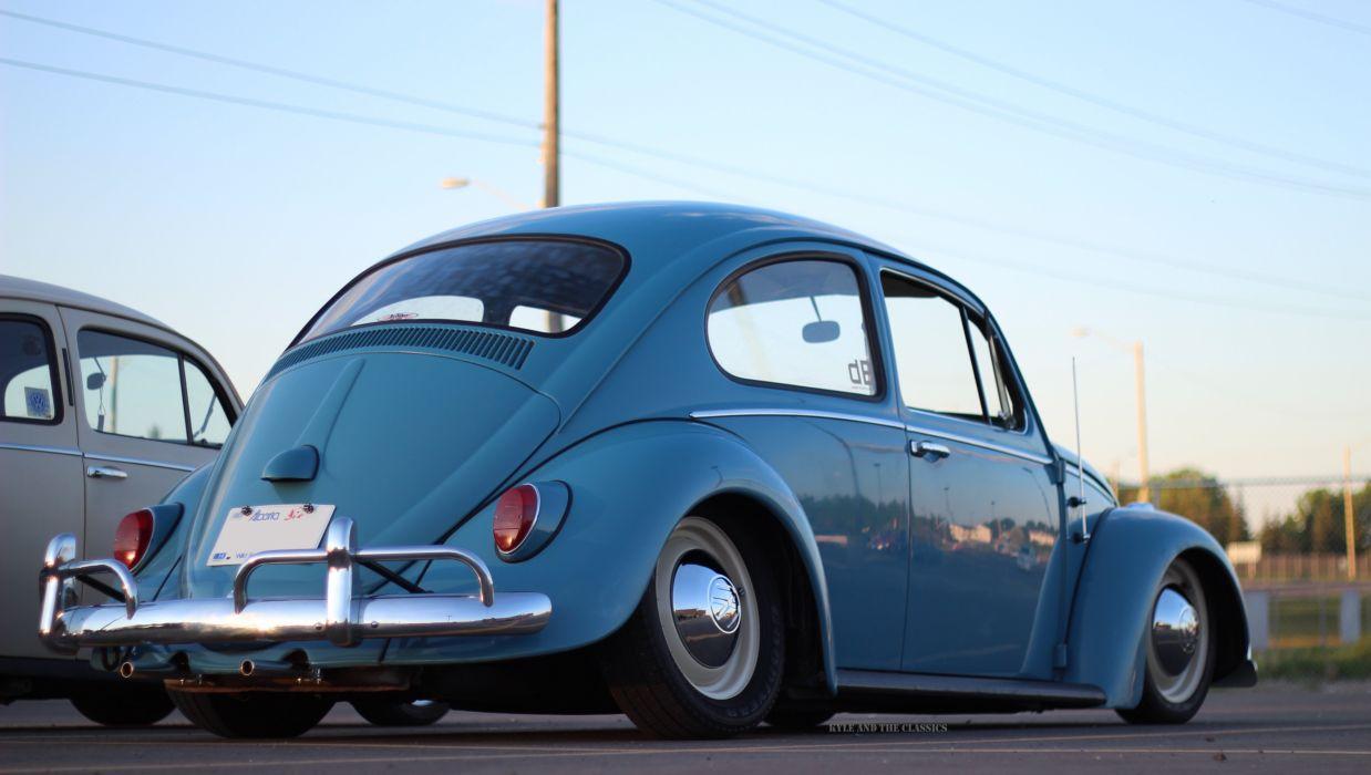 1965 Volkswagen Beetle wallpaper
