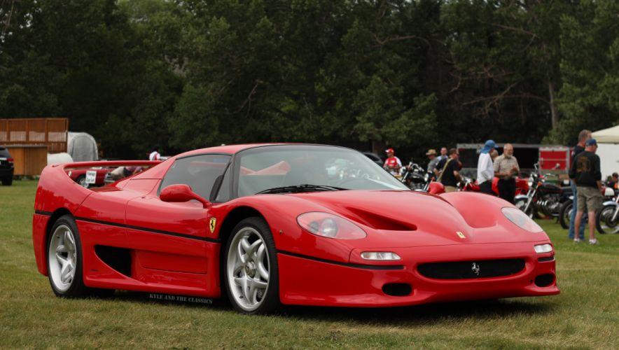 1996-1997 Ferrari F50 wallpaper
