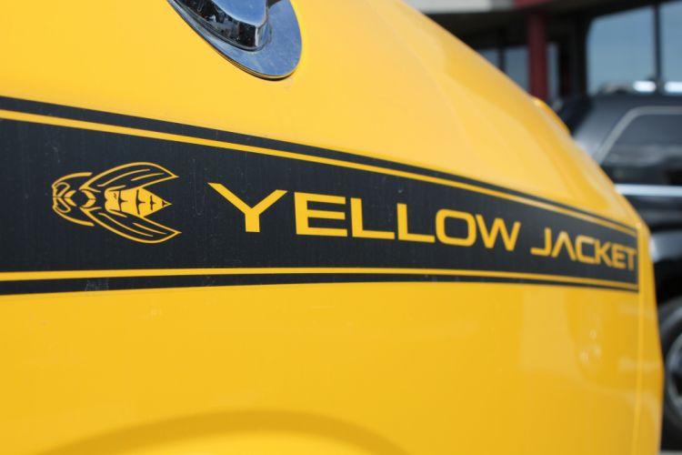 Yellow Jacket Stripe wallpaper