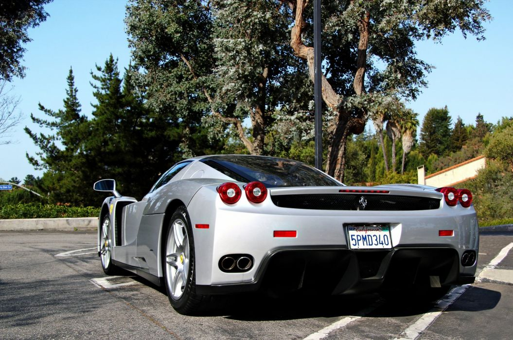 Ferrari Enzo supercars cars italia grey gris wallpaper