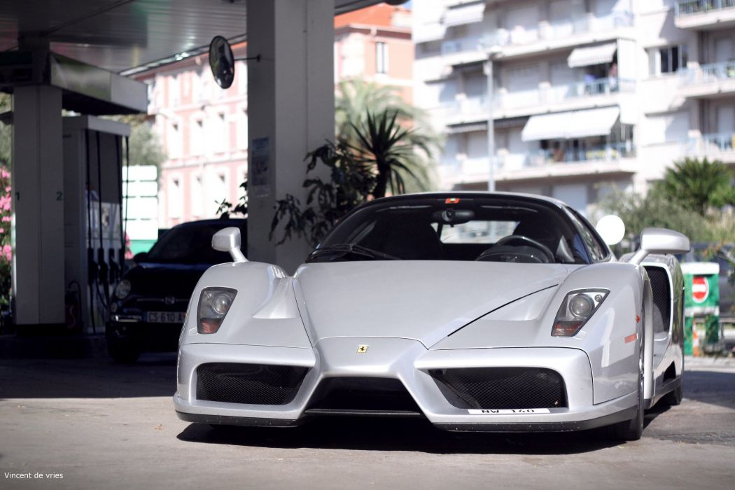 Ferrari Enzo supercars cars italia grey gris wallpaper