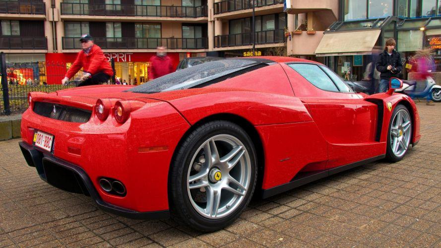 Ferrari Enzo supercars cars italia red rouge wallpaper