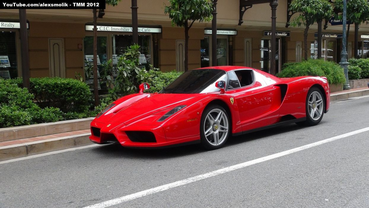 Ferrari Enzo supercars cars italia red rouge wallpaper