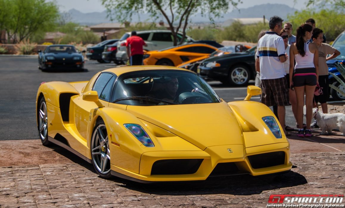 Ferrari Enzo Supercars Cars Italia Jaune Yellow Wallpaper 1600x967 554681 Wallpaperup