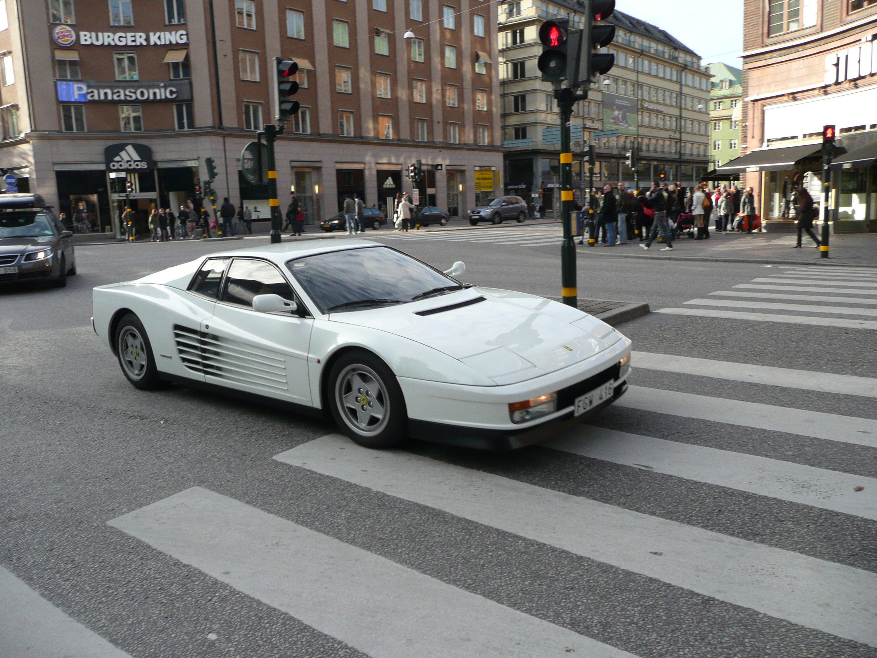 Ferrari Testarossa 512 Tr F512 M Supercars Cars Italia White Blanc Wallpaper    3072x2304   554764   WallpaperUP