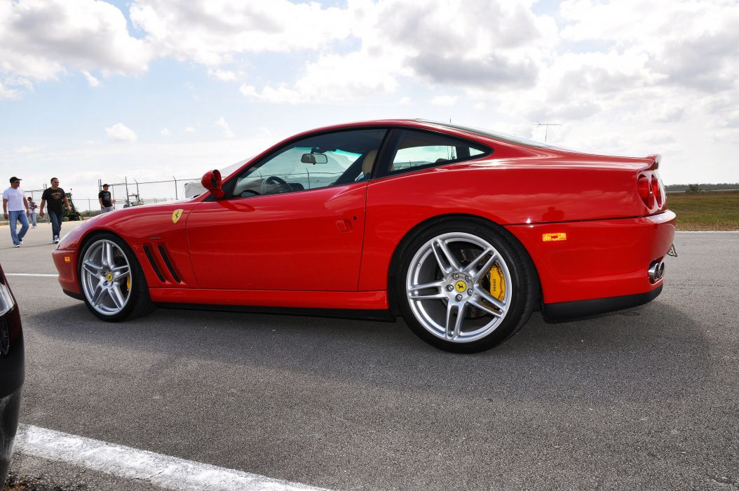Ferrari 550 575 maranello coupe supercars CARS italia red rouge wallpaper