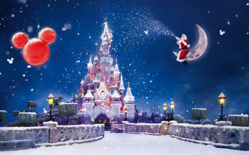 CHRISTMAS holiday disney wallpaper
