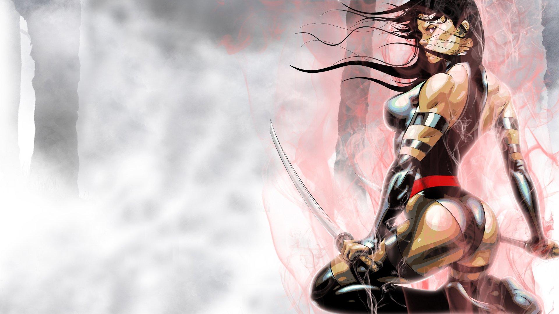 Imagenes De Xmen: PSYLOCKE Marvel Fantasy Warrior Sexy Babe X-men Xmen