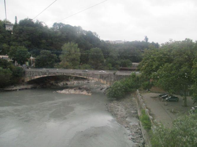 Kutaisi river wallpaper