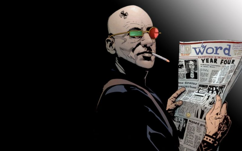 TRANSMETROPOLITAN cyberpunk sci-fi superhero dc-comics wallpaper