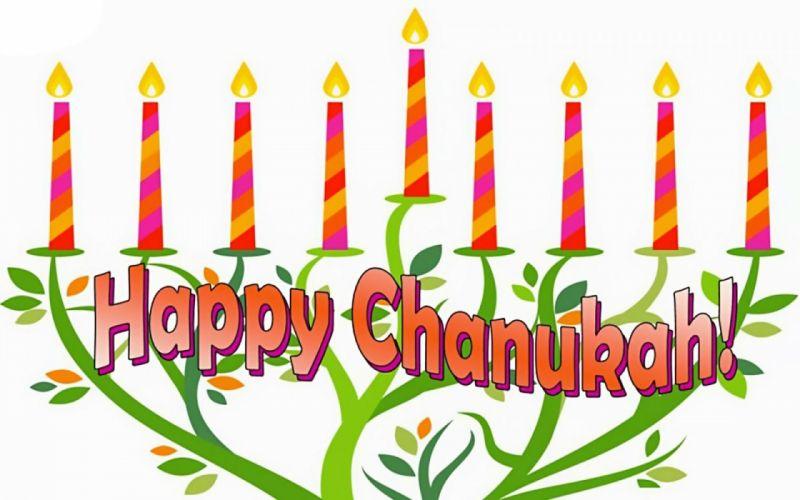 HANUKKAH jewish festival holiday candelabrum candle menorah hanukiah Chanukah wallpaper