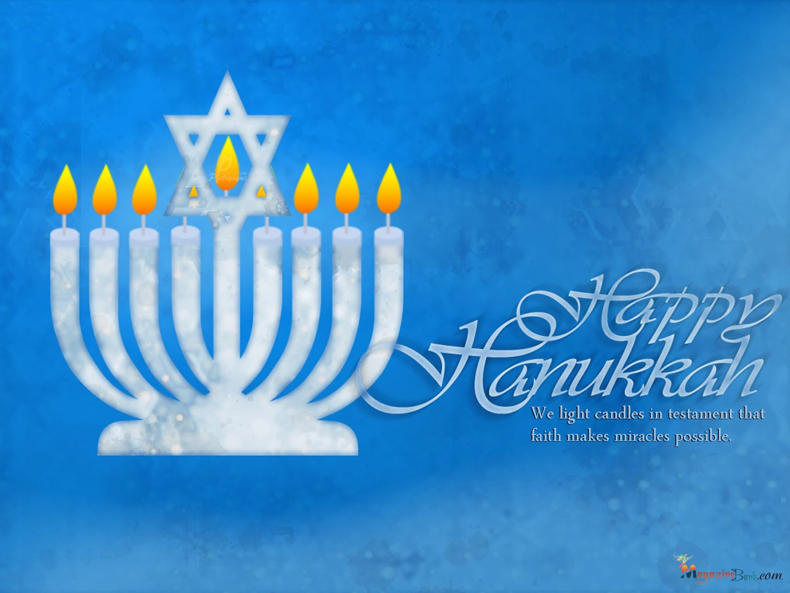 Hanukkah Jewish Festival Holiday Candelabrum Candle HD Wallpapers Download Free Images Wallpaper [1000image.com]
