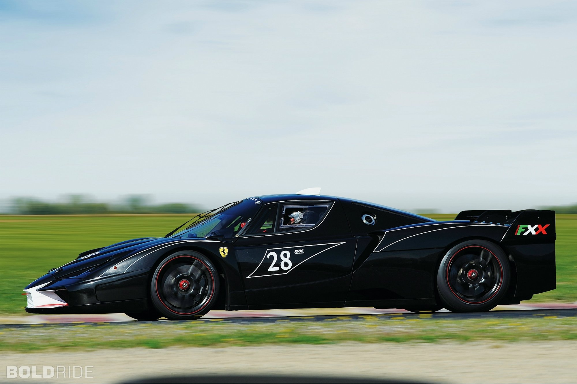 Ferrari FXX enzo racecars supercars cars race italia black ...